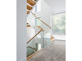 Bespoke Residence on the South Coast David James Architects & Partners Ltd Escalier