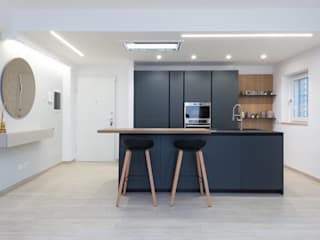 zero6studio - Studio Associato di Architettura Built-in kitchens Black