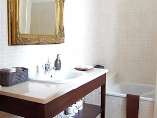 maria inês home style Mediterranean style bathroom