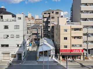 工具箱の家 山本嘉寛建築設計事務所 YYAA 一戸建て住宅 鉄/鋼 メタリック/シルバー