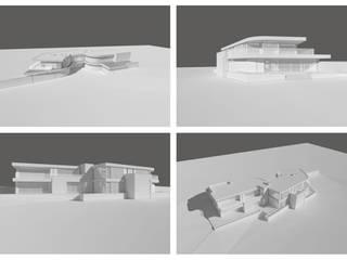 Branksome, Poole, Dorset David James Architects & Partners Ltd Maisons modernes