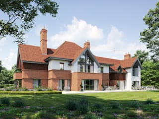 Substantial residences in Kent David James Architects & Partners Ltd Country style house