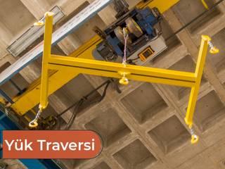 Bayrakcı Metal İnşaat Pusat Perbelanjaan Gaya Industrial Besi/Baja Yellow