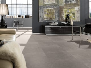 Design Kork SAMOA in Steinoptik KWG Wolfgang Gärtner GmbH Boden Kork Grau