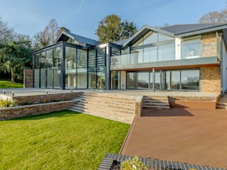 The Dell, Ringwood, Hampshire David James Architects & Partners Ltd Modern houses