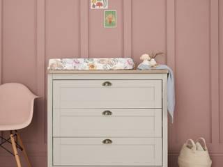 Bambini and Bo Nursery/kid's roomStorage Kayu Grey