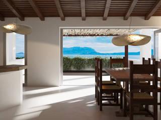 Architetto Alessandro spano Mediterranean style dining room