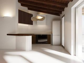 Architetto Alessandro spano Mediterranean style kitchen