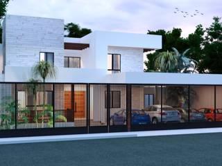 Heftye Arquitectura Casa unifamiliare Ferro / Acciaio Bianco