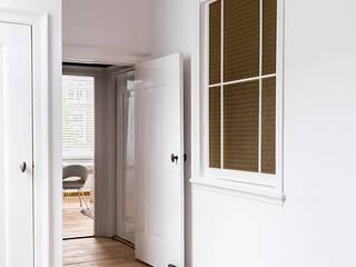 Pure & Original Classic style corridor, hallway and stairs White