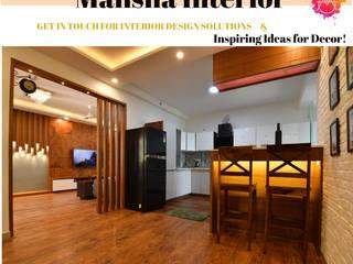 Mansha Interior Moderne Wohnzimmer