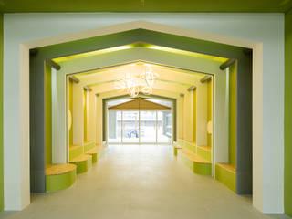 지오아키텍처 斯堪的納維亞風格的走廊,走廊和樓梯