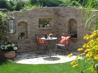Antik-Stein Modern garden