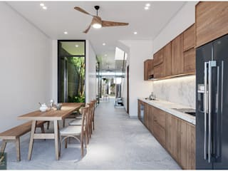 Thiết kế nội thất nhà phố 2 tầng đẹp Công ty nội thất ATZ LUXURY KitchenAccessories & textiles