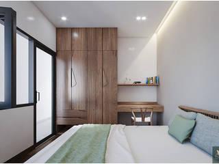 Thiết kế nội thất nhà phố 2 tầng đẹp Công ty nội thất ATZ LUXURY BedroomAccessories & decoration