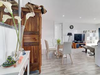 Casas do Sotavento Ruang Keluarga Modern