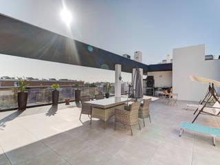 Casas do Sotavento Balkon, Beranda & Teras Modern