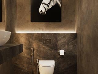 Студия дизайна ROMANIUK DESIGN Classic style bathroom