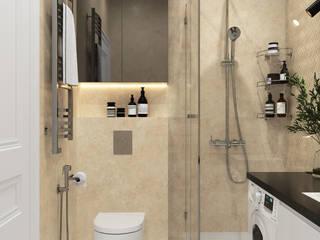 Студия дизайна ROMANIUK DESIGN Scandinavian style bathroom