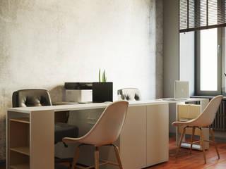 Студия дизайна ROMANIUK DESIGN Estudios y despachos de estilo industrial