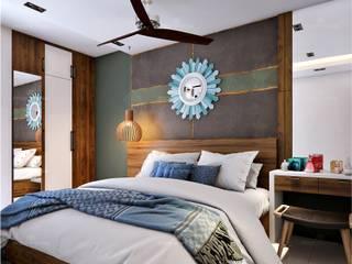 Premdas Krishna Small bedroom Wood Wood effect