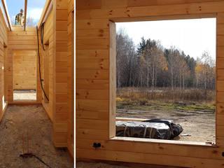 Студия дизайна интерьера 'Золотое сечение' Modern houses Wood Brown