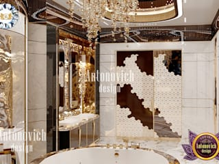 Luxury Antonovich Design Modern bathroom