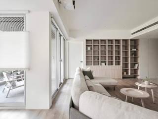 旭日 寓子設計 客廳