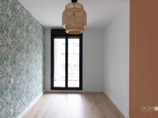 Decoración de Interiores. Vivienda familiar de obra nueva en Alcobendas POMO. Home Staging & Design Studio Dormitorios infantiles de estilo mediterráneo