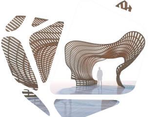 Brunswick Centre, London THINK NATURE , The Plaza Debbie Flevotomou Architects Ltd. Eclectic style exhibition centres