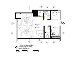 Áureo Arquitectura Clínicas y consultorios médicos de estilo moderno Madera Gris
