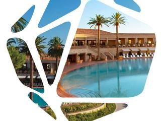 Newport Beach, Hotel Debbie Flevotomou Architects Ltd. Eclectic style hotels