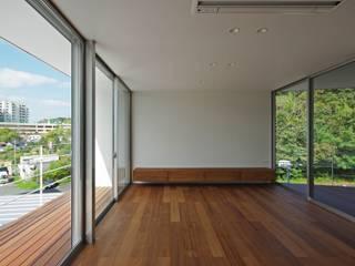 空間建築-傳 Living room Wood effect