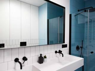 Sposoby na nowoczesną łazienkę Luxum Nowoczesna łazienka Biały