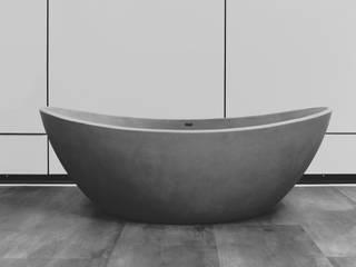 Sposoby na nowoczesną łazienkę Luxum Nowoczesna łazienka Beton Szary