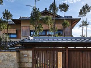嵯峨の茶室 ATS造家設計事務所 リゾートハウス 木 木目調
