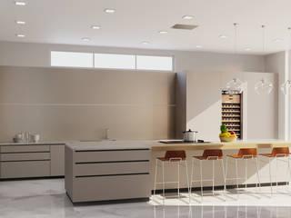 Kitchen Rendering Services Pennsylvania JMSD Consultant - 3D Architectural Visualization Studio KitchenAccessories & textiles Solid Wood Grey