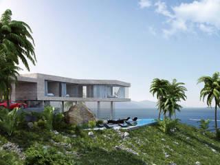 Stone Villa Quark Studio Architects Single family home