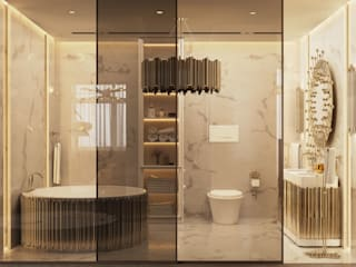 Welcome To The Soothing New York City Apartment Project DelightFULL Modern bathroom