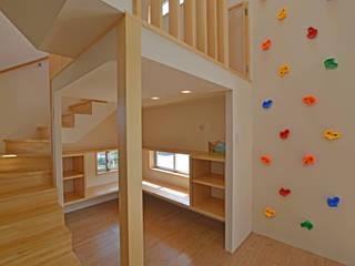 SKIP HOUSE 久友設計株式会社 子供部屋 木目調