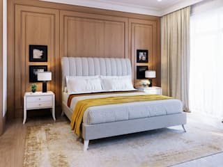 GEORGE bed ITALIANELEMENTS BedroomBeds & headboards Textile