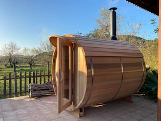 CASÁRBOL Sauna Solid Wood Wood effect