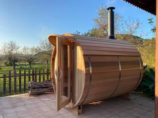CASÁRBOL Saunas Madera maciza Acabado en madera