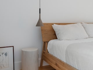 Boa Safra ห้องนอนโต๊ะหัวเตียง ไม้จริง