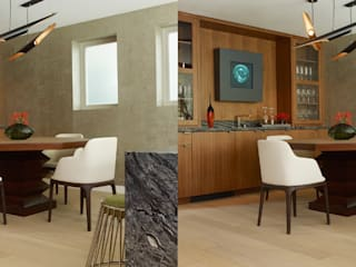 Project With A sculptural Coltrane 3 Suspension Pendant DelightFULL Built-in kitchens