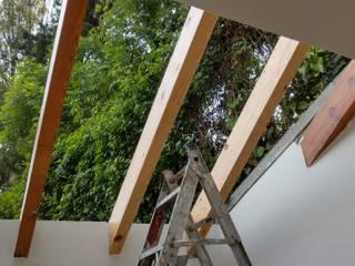 Reparación de Domo e Instalación de Vidrio Templado Ultra Transparente HYPNOS Remodelaciones Residenciales