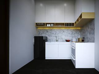interior design & build Daniya Architect Dapur Minimalis