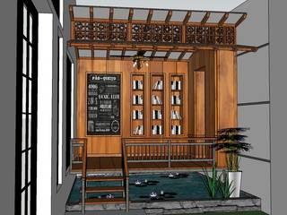 interior design & build Daniya Architect Balkon, Beranda & Teras Minimalis