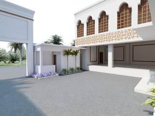Desain Pesantren Daarul Ihsan Daniya Architect Koridor & Tangga Tropis