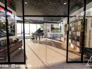 desain arsitek depok Daniya Architect Koridor & Tangga Gaya Mediteran